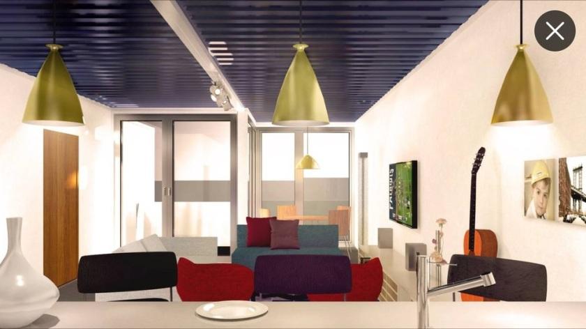 Interior rendering courtesy C+C Architecture