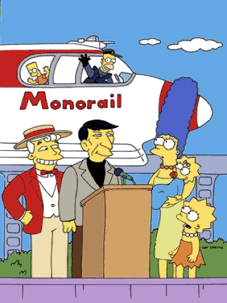 The Simpsons: MonorailSong